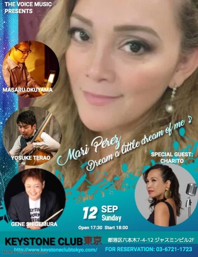 The Voice Music presents Mari Perez: Dream A Little Dream of Me
